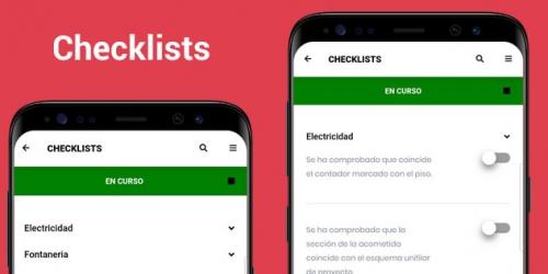 Chekclist o listas de control para empresas mediante app móvil