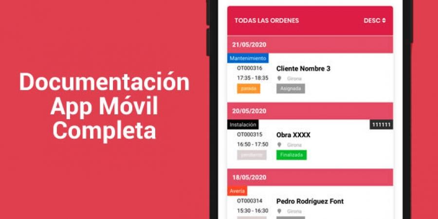 Consulta la Documentación Completa de la App Móvil