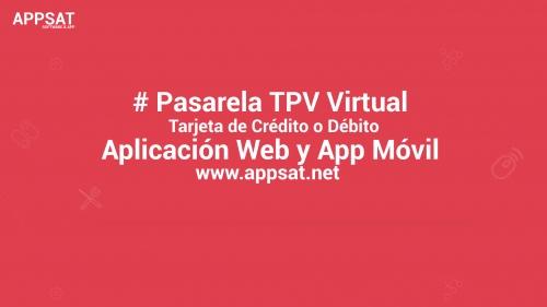 Pasarela TPV Virtual (Tarjeta de Crédito o Débito)