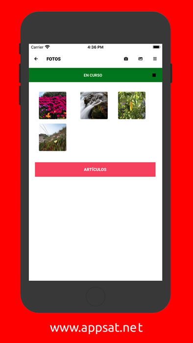 App Fotos - Partes de Trabajo Software Sat Servicio Técnico